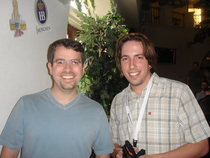 Matt Cutts (chefe de webspam do Google) & Cassiano Travareli
